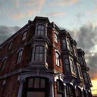 Victorian Architecture Building