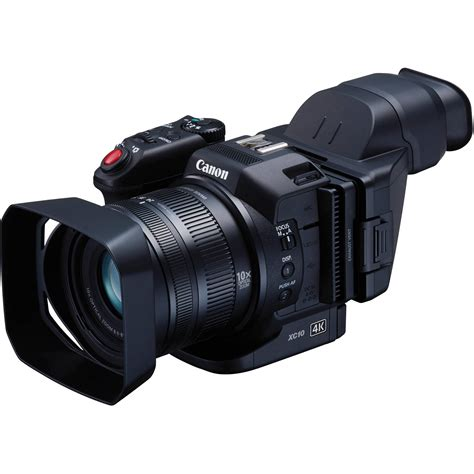 canon professional canon xc10 4k professional camcorder 0565c013 b h photo