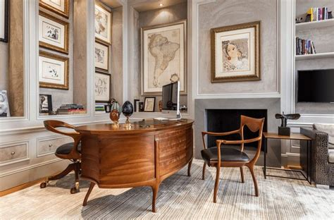 bureau bois massif moderne agencement bureau moderne idées déco et photos