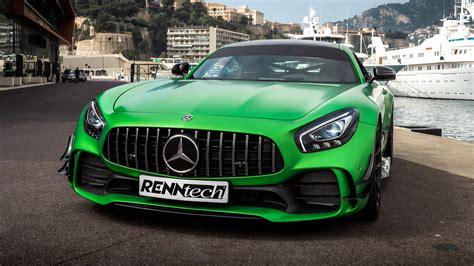 Monster!* renntech mercedes benz amg gts rev battle! Renntech Mercedes-AMG GT R 2018 4K 2 Wallpaper   HD Car Wallpapers   ID #10460