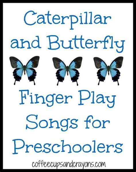 caterpillar and butterfly finger play songs summer 697 | 9519c930dd45b5144e751b79c164b426