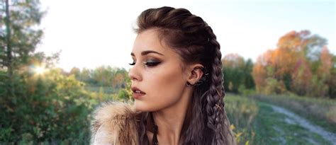 vikings lagertha hair tutorial lovehairstylescom
