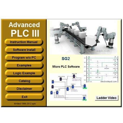 plc programming and simulator software ladder and logic function plc iii http www
