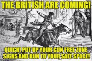 Image result for Gun Free Zone Meme