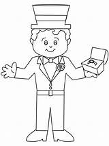 Groom Coloring Pages Wedding Printable Print Disabled Hula Coloringpages101 Advertisement Coloringpagebook sketch template