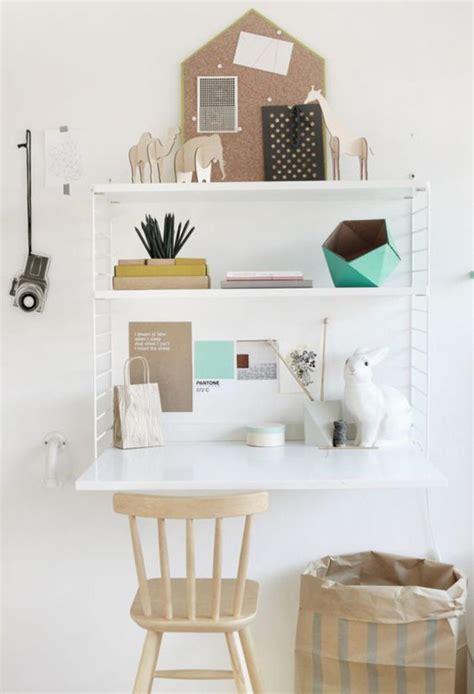 petit bureau blanc aménagement d 39 un petit espace de travail le bureau style