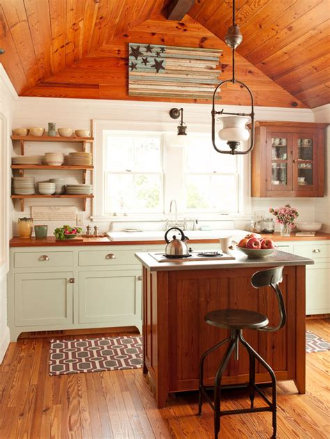 Collection Of Rustic Kitchens  Town & Country Living