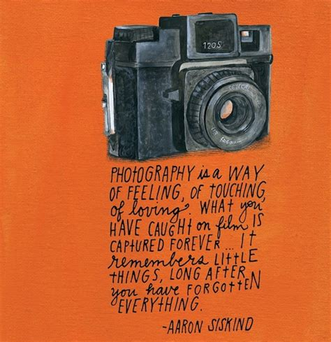 Inspirational Photography Quotes Featured In Idea Journal