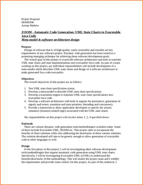 template  writing  proposal   project project