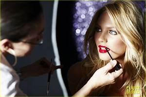 Miranda Kerr Victoria39s Secret Holiday Campaign Sneak