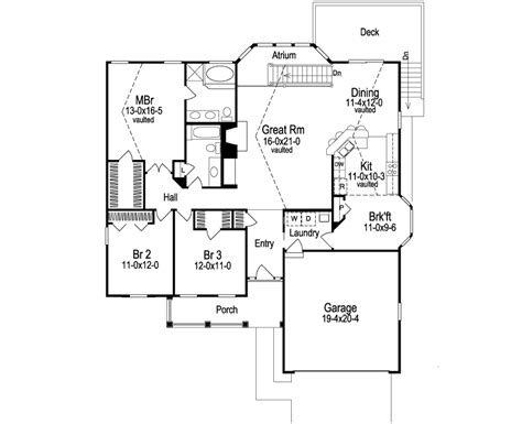 simple house plans  atrium ideas home plans blueprints