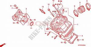 Cylinder Head  Cbr125r  Rs  Rw5  Rw6  Rw8  For Honda Cbr 125
