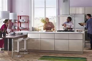 Cuisine Industrielle Ikea : photo cuisine ikea 45 id es de conception inspirantes voir ~ Dode.kayakingforconservation.com Idées de Décoration