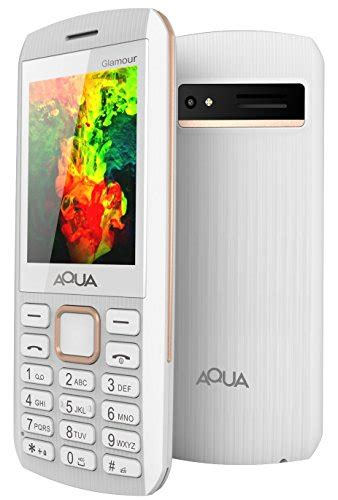 Auto Recording Mobile Phone by Aqua Gorgeous Dual Sim Basic Keypad Mobile Phone