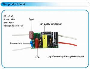 9w 12w 15w 18w 230ma Tube Light Led Driver Non Isolated 24v Power Supply Internal T8 Led Driver