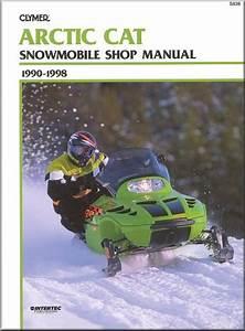 Arctic Cat Snowmobile Repair  U0026 Service Manual 1990-1998