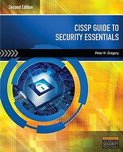 Cissp Guide To Security Essentials 2nd Edition Gregory