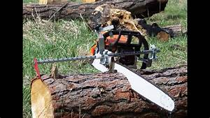 Getting Firewood  Chainsaw Measuring Tool