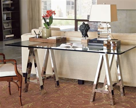 williams sonoma mason desk mason glass top desk williams sonoma