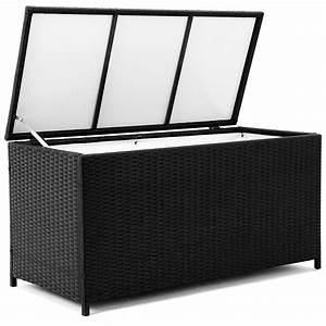 Box Für Sitzauflagen : rattan auflagenbox gartenbox gartentruhe kissenbox truhe box auflagen polyrattan ebay ~ Orissabook.com Haus und Dekorationen