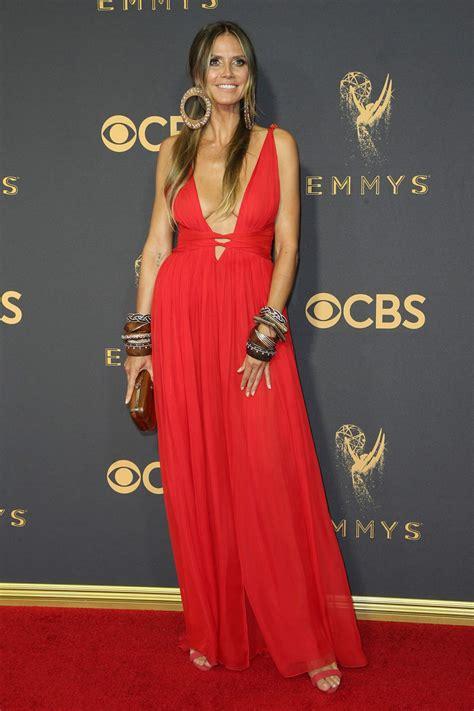 Heidi Klum Emmy Awards Los Angeles