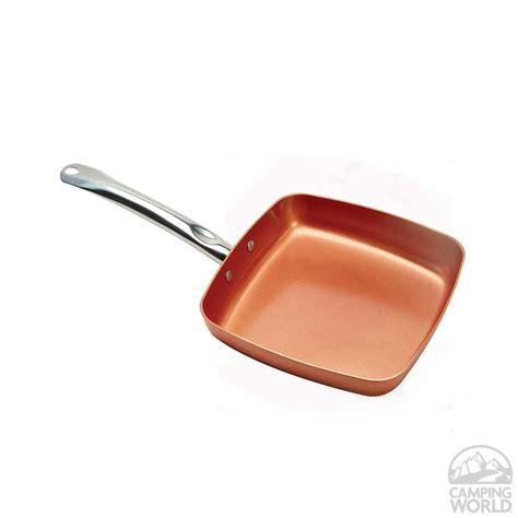 copper chef   nonstick pan gander outdoors