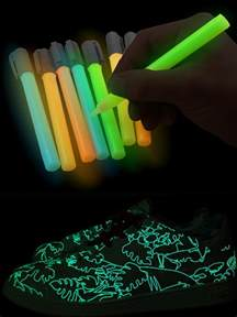 Glow in the Dark Paint for Paper
