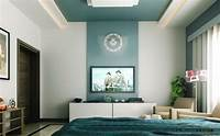 2 color wall paint designs Bedroom Feature Walls