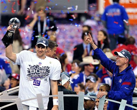 With Super Bowl Xlvi Win Over Patriots Ny Giants Eli