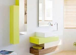 Petit Meuble Vasque : 10 rangements salle de bain pour un gain de place maxi ~ Teatrodelosmanantiales.com Idées de Décoration