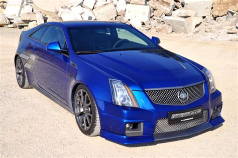 Cadillac Cts Blue by Geiger Cars Cadillac Cts V Coupe
