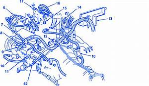 Chevrolet 1500 Truck 4 3 1989 Wire Harness Electrical Circuit Wiring Diagram
