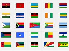 Africa Flags Difficult Version Flag Quiz Game