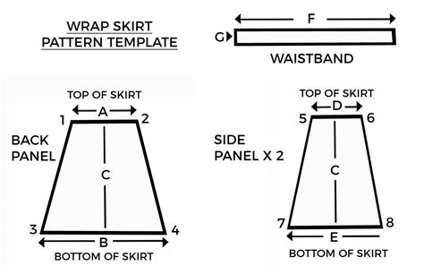 sew  wrap skirt weallsew