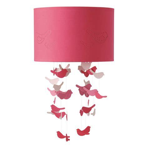 suspension chambre b b fille suspension non électrifiée en tissu d 30 cm birds