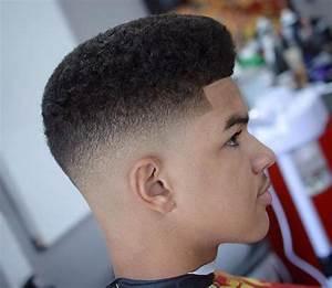 Dégradé Americain Court : coiffure homme afro d grad ~ Melissatoandfro.com Idées de Décoration