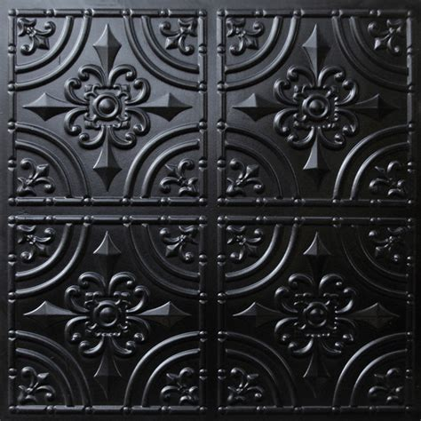 decorative ceiling tiles 24x24 205 faux tin ceiling tile glue up 24x24 black ceiling