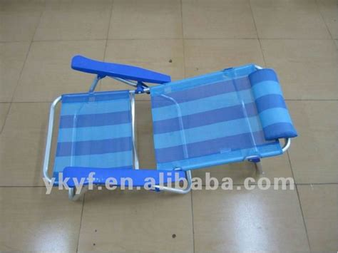 siege de plage pliable pliable bas réglable de siège accoudoir chaise de plage