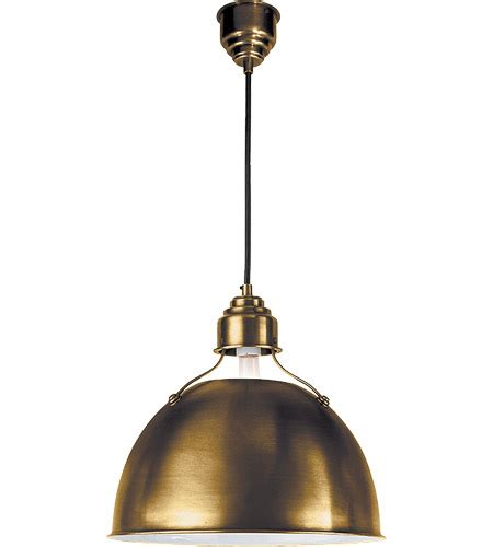 visual comfort pendants visual comfort tob5013hab obrien eugene 1 light 16