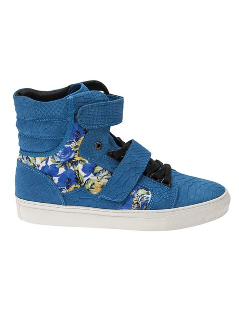android homme shoes android homme propulsion hi shoe in blue for lyst
