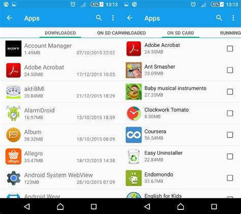 how to change default apps in android