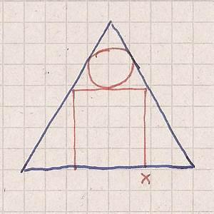 Kugel Radius Berechnen : kreiszylinder mit aufgesetzter kugel soll in ein kreiskegel gesuchte volumen berechnen ~ Themetempest.com Abrechnung