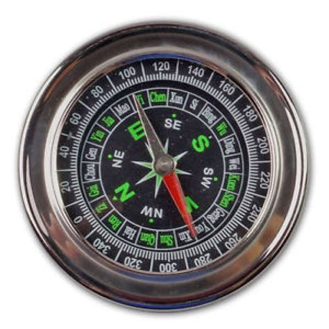 Stainless Steel Metal Military Magnetic Compass Hiking