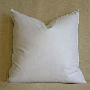 Down square pillow forms for 26 inch square pillow insert
