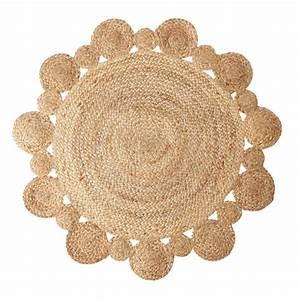 tapis en jute rond new styles pinterest jute et deco With tapis chambre bébé avec acheter fleur en sucre