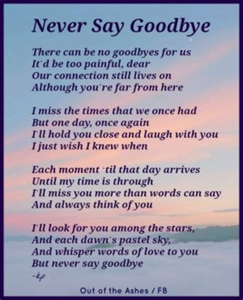 Saying Goodbye Death Quotes Inspirational Quotesgram