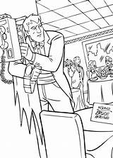 Coloring Pages Restaurant Batman Wayne Bruce Printable Getcolorings Super sketch template
