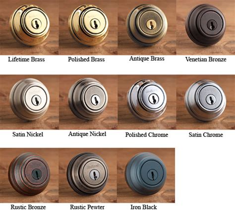 kwikset hardware finish colors doorware com