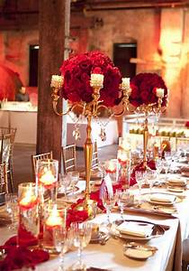 stylish red and gold wedding reception tablescapes With wedding decoration red and gold
