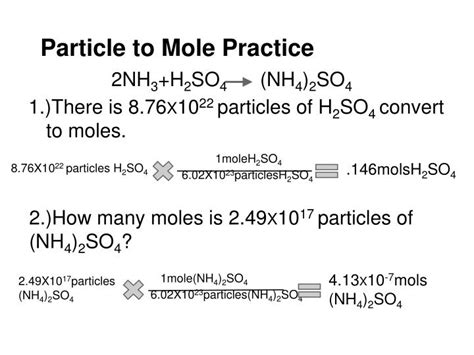 Ppt  Molestoichiometry Powerpoint Presentation Id1884092
